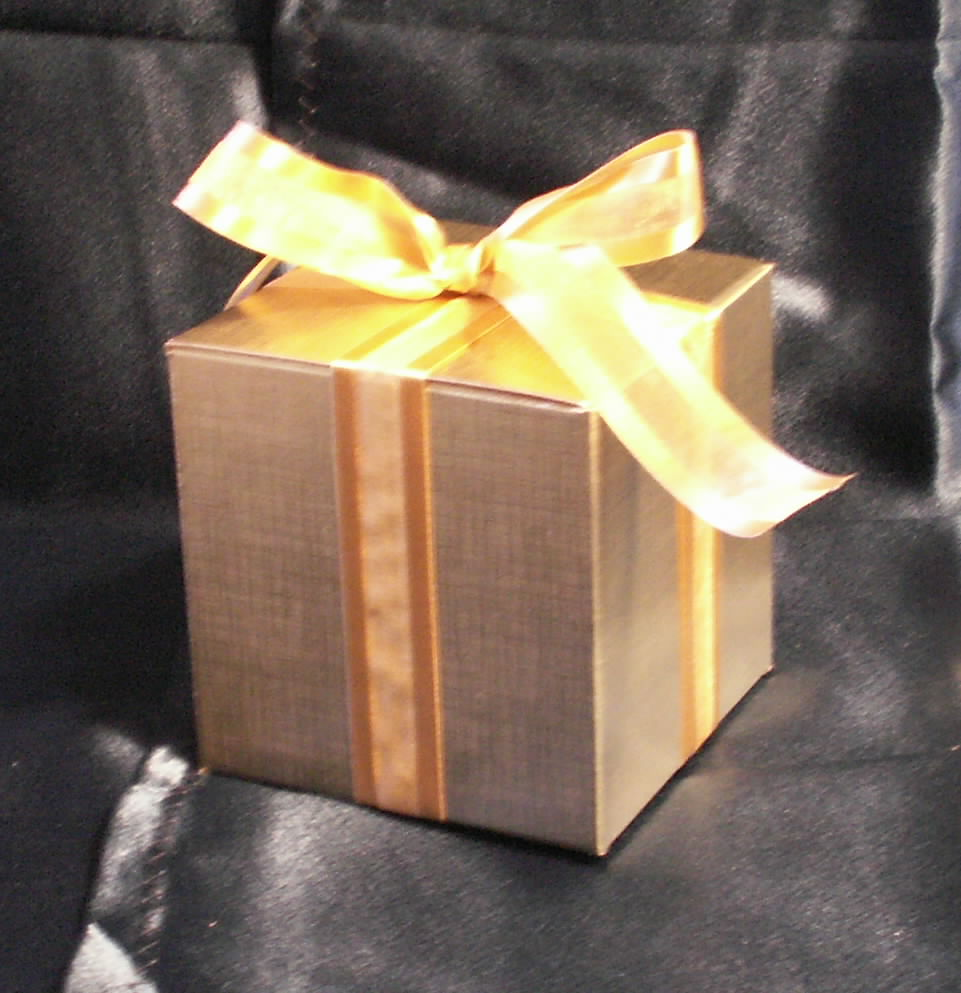 Gift Boxed Ornaments make the best Christmas Wedding Favors